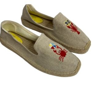Mary Matson x Soludos Crab/Lobster Smoking Slipper